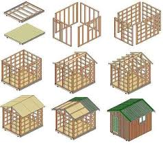 10 16 gable shed plans affordable utility shed plans for your