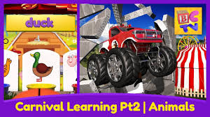 100 Monster Trucks Names Farm Animals For Kids Pt 2 Learn The And Sounds With