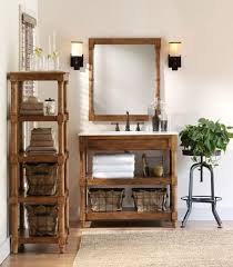 Rustic Bathroom Colors Natural Log Vanity Diy Ideas Rectangle Wall Mirror Frameless Towel Rackand