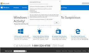Remove the Call Windows Help Desk Immediately Tech Support Scam