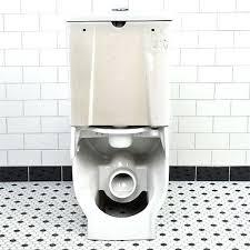 toilet american standard floor mount rear discharge toilet rear