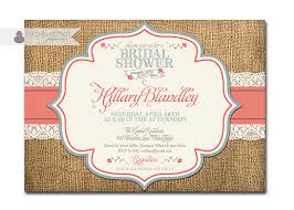 Rustic Bridal Shower Invitations AEUR Gangcraft Net