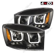Anzo U-BAR Projector Headlights Black 2006-2008 Dodge Ram 1500 / 06 ... Diode Dynamics Dd2015 Dodge Ram Daytime Running Light Switchback Body Painted Headlights Trucks Pinterest Rams 9401 Ram 1500 2500 3500 Oem Style Crystal Chrome 2009 14 Quad Halo Install Package 2010 Reviews And Rating Motor Trend Smoked Black Projector 0609 Recon Lumen Sb7697hlchr 7x6 Rectangular Led Fit 092018 1018 Headlight Doorsbezels Mopar Upgrades Anzo Truckin 15 06 For 2018 Saintmichaelsnaugatuckcom Ubar 62008