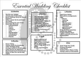 How To Plan A Wedding Checklist