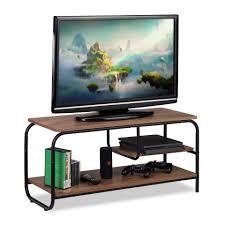 relaxdays tv regal tv board mit ablage entertainment tv schrank bietet platz für ihren fernseher konsole receiver alles in einem regal