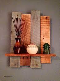 Decorative Wall Sconce Shelves Beautiful Diy Rustic Pallet Shelf
