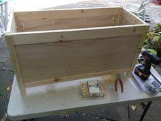 diy toy box with safety lid playroom pinterest diy toy box
