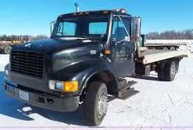 1997 International 4700 Rollback Truck | Item K4507 | SOLD! ... Used 1987 Kenworth T800 Rollback Truck For Sale In Al 2953 Clean 1990 Intertional Rollback Truck For Sale Finest Trucks For Sale In Ky Has Ford 8 Ton Roll Back Junk Mail Tow Recovery Trucks Tx Entire Stock Of Tow 2004 4300 By Arthur Trovei 2003 Kenworth Tandem Axle 2018 Freightliner M2 Extended Cab With A Jerrdan 21 Alinum Browse Our Hydratail Trucks Ledwell 1958 White Cabover Custom