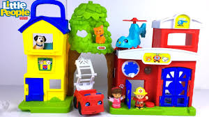 100 Fisher Price Fire Truck Ride On FISHER PRICE LITTLE PEOPLE ANIMAL RESCUE SET WITH FIRE STATION