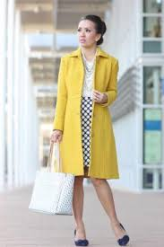 Style Reviews And Petite Fashion JCrew Lady Day Coat In Warm Chartreuse Ann Taylor Stripe Signature Tote