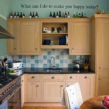My New Colour Schemefor The Kitchen White Cupboards Black Bench