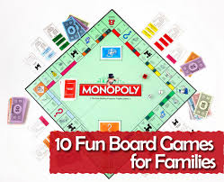 Board Game For Divine Fun Family Games To Play At Home And Creative