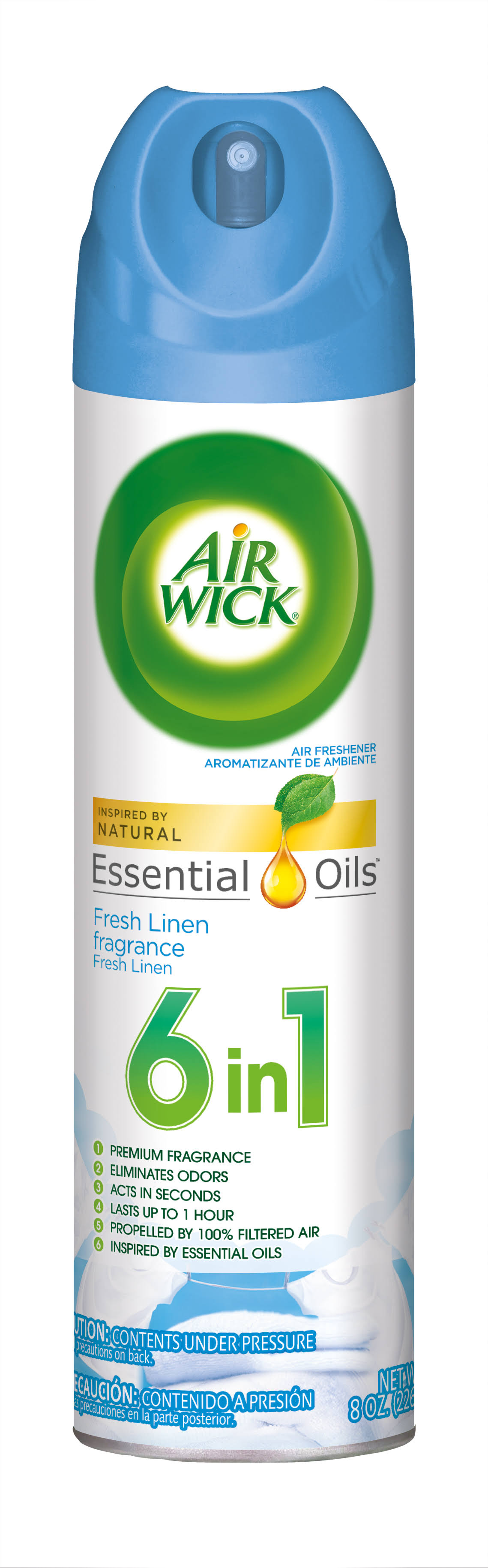 Air Wick Air Freshener Spray - Cool Linen and White Lilac, 8oz