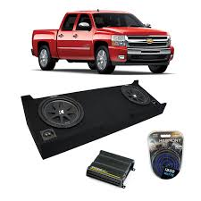 2007-2013 Chevy Silverado Crew Cab Truck Kicker Comp C12 Dual 12 ... 2013 Chevy Silverado 2500 Hd Bradenton Tampa Fl Cox Chevrolet Best Truck In The World Amazing Wallpapers Headlights 2007 Headlight Halo Install Package 1500 4x4 Lt 4dr Extended Cab 65 Ft Sb Used Lifted W Z71 4x4 Off Ltz Extended Cab With Offroad Orange County Drivers Save Big During Month At Guaranty Bellers Auto Crate Motor Guide For 1973 To Gmcchevy Trucks