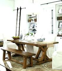 Barn Style Dining Room Table Pottery
