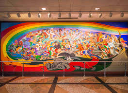Denver Airport Murals Conspiracy Theory by Denver Airport Conspiracy Theories Rumors U0026 Facts Thrillist
