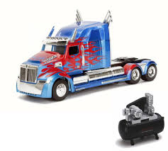 Diecast Car & Air Compressor Package - TRANSFORMERS 5 Optimus Prime ...