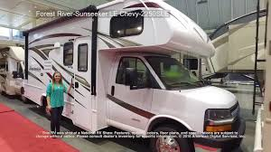 Coachmen Class C Motorhome Floor Plans by Forest River Sunseeker Le Chevy 2250sle Class C Motorhome Youtube
