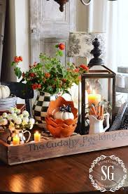 fall kitchen table centerpiece vignettes house tours and kitchens