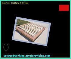 diy king size platform bed frame 075854 woodworking plans and