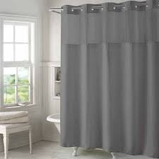 Jcpenney Silver Curtain Rods by Gray Shower Curtains For Bed U0026 Bath Jcpenney