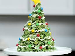 Giant Marshmallow Cornflakes Christmas Tree Treat Recipe