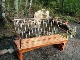 Menards Porch Swing Backyard Creations Hardwood At 1 Shop Swings