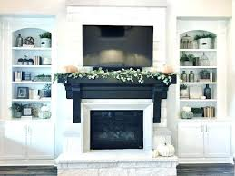 Modern Mantel Decor Ideas Dining Room Shelf Over Fireplace For Wall Above