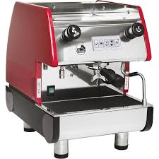La Pavoni PUB Volumetric 1 Group Red Commercial Espresso And