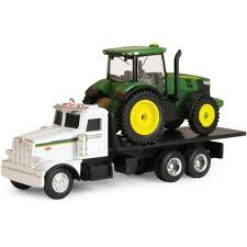 100 John Deere Toy Trucks ERTL Dealer Truck With 7R Tractor Walmartcom