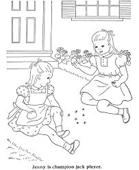 BlueBonkers Girl Coloring Pages