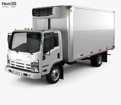 100 Refrigerator For Truck Isuzu NRR 2010 3D Model Vehicles On Hum3D