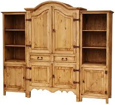 Sierra Mexican Rustic Pine Entertainment Center