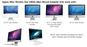 Imac Vesa Desk Mount by Imac Vesa Mount Adapter Kit