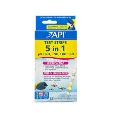 api 5 in 1 test strips freshwater and saltwater aquarium test
