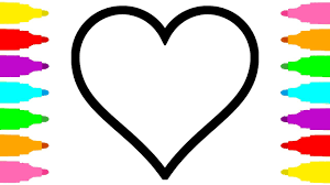 Coloring Pages Heart For Kids