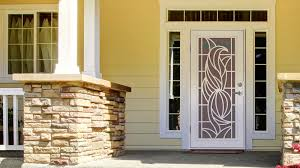 Decorative Security Bars For Windows And Doors by Unique Home Designs Security Doors Screen Doors And Window