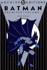 Batman Archives Vol 1 By Bill Finger