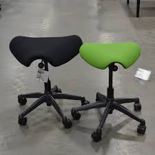 Used Humanscale Freedom Chair by Humanscale Freedom Pony Saddle Stool Office Barn