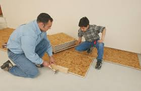 Floating Floor Underlayment Basement by Installing A Floating Subfloor Extreme How To