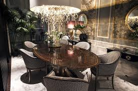 Modern Dining Room With Stunning Lighting And Plenty Of Elegance