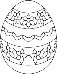 Egg Coloring Pages Book Kids Archives Images Easter Pinterest Free Printable Online Full Size