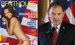 100 Penthouse Maga Magazine Dedicates Its Cover To Utah Governor Gary