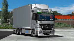 100 What Is A Tandem Truck Mercedes Ctros MP2 With Ddon 132 Euro Simulator