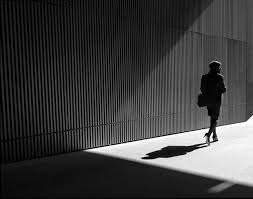 grapher Uses Light and Shadows to Frame Human Forms in the City