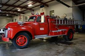 100 First Fire Truck Restoration Project Engine 1949 Jefferson Monroe Department