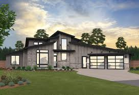 100 A Modern House Source Point TwoStory Plan By Mark Stewart