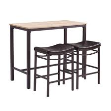 Betty 3-Piece Rustic Brown Bar Table Set | Products In 2019 ...