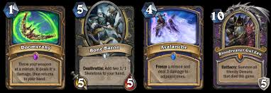Warlock Deck Hearthstone August 2017 by Hearthstone Knights Of The Frozen Throne Out Now Deck Guides
