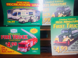 LOT 20x HESS TOY TRUCK DISPLAY SIGNS , ORIGINAL OWNER, STORED IN ... Aj Colctibles More Aj Hess Toy Trucks All Hess Lot Of 15 1990 1998 Toy Car Truck Tanker Rv Rescue 18 Wheeler Video Review Of The Truck 2013 And Tractor Miniature Tanker With Lights Ebay The New Toy Truck Is Out Its A Chuck Writer 19982017 Complete Et Collection Miniatures Trucks 20 1991 With 1988 Friction Motor 41 Similar Items Storytime Janeil Hricharan Working Advertising Colctible